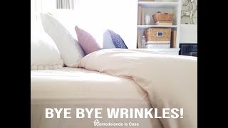 How To Easily Remove Wrinkles From Your Bed Linens