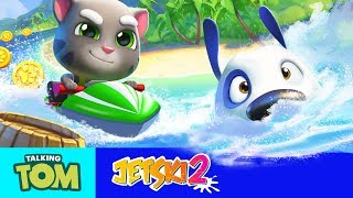 TOP 5 TIPS TO WIN in Talking Tom Jetski 2 Game