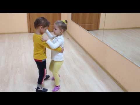 Венский вальс, Марк и Лера, 4 года (видео)