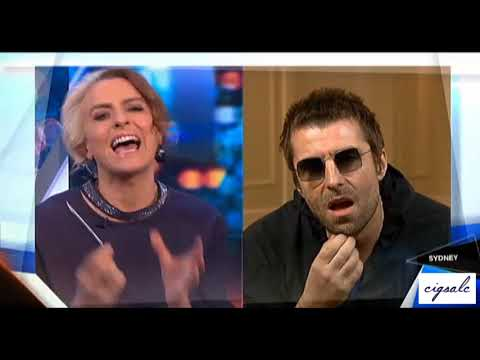 Liam Gallagher interview - The Project, Australia, January 10, 2018