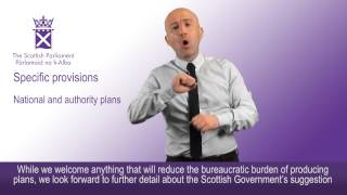 Executive summary of the Stage 1 report on the British Sign Language (Scotland) Bill
