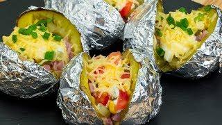 Выбери любую начинку! Преврати обычную картошку в необычное блюдо - отличная идея! | Appetitno.TV
