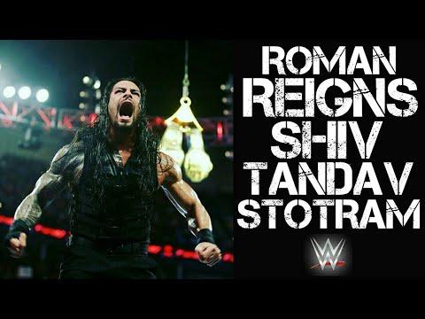 Roman Reigns Tandav    Shiv Tandav Stotram    WWE Superstar    HD Video    2018