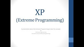 Extreme Programming (XP) -  Urdu / Hindi
