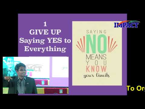 7 Things To Give Up | KVN Karthik | TELUGU IMPACT Hyd Apr 2018