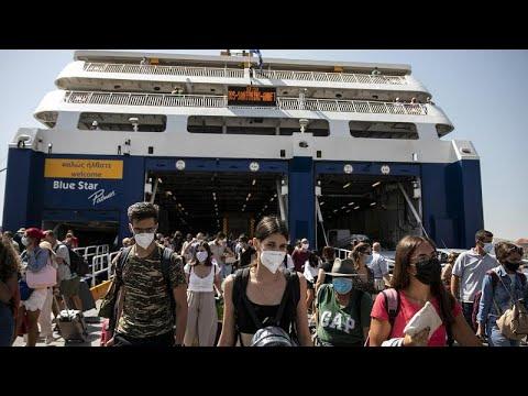 Ελλάδα: Όλα τα νέα μέτρα που ισχύουν από σήμερα – Πώς ταξιδεύουμε στα νησία …