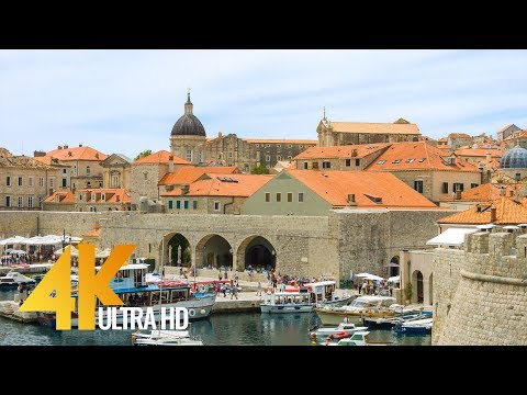 4K Dubrovnik, Croatia - Cities of the World | Urban Life Virtual Tour