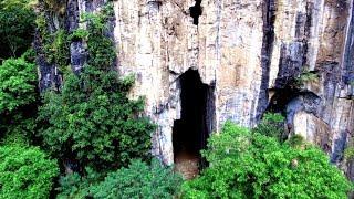 DRONE: Airdrop @ Pha Kuang Cave, Laos
