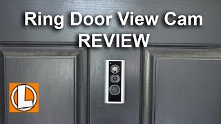 Ring PeepHole Cam Review - Unboxing, Features, Setup, Installation, Settings, Footage