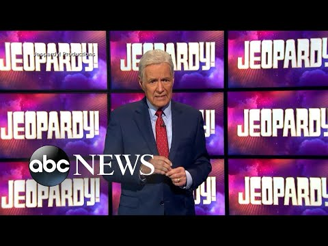 'Jeopardy!' host Alex Trebek shares new health update l GMA