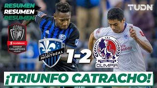 Resumen y Goles | Montreal 1 - 2 Olimpia | CONCACAF Champions - 4tos Ida | TUDN