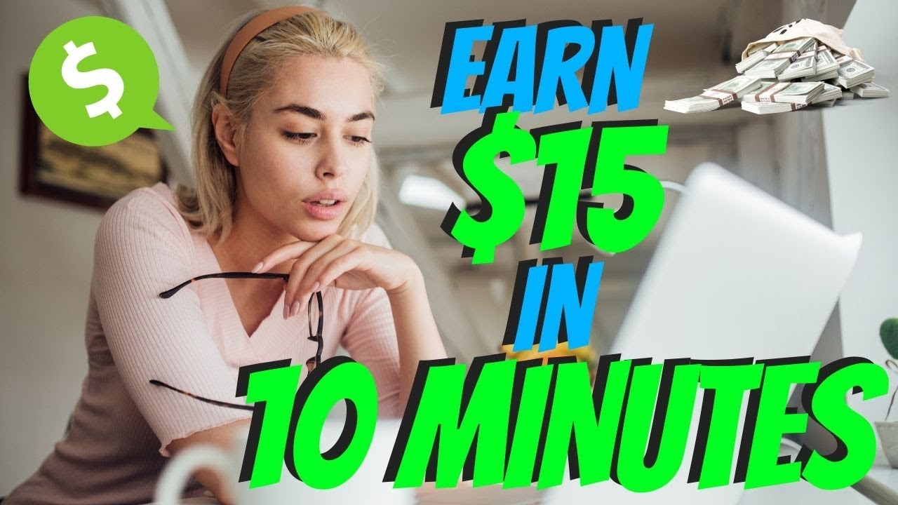 Make $15 Every 10 Minutes|Generate Income Online 2021 thumbnail