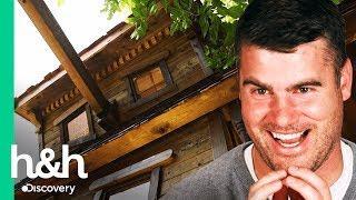¡Una casita embrujada! | Casitas para jugar | Discovery H&H