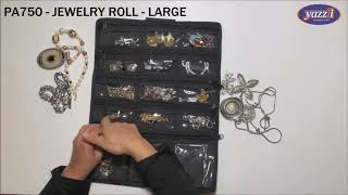 PA750 Jewelry Roll (Large) | Yazzii Travel Bag