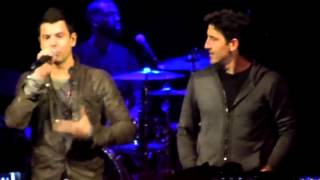 """Jordan Knight Live & Unfinished NYC """"Stingy"""" and """"The Right Stuff"""" special guests Jon and Donnie"""