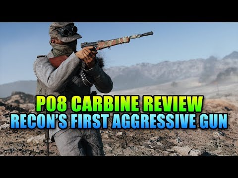 P08 Carbine Review - Recon's First Aggressive Weapon! | Battlefield V