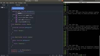 PHP OOP Tutorial #8: Abstract classes and methods