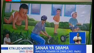 Sanaa ya michoro yatumika kuipamba historia ya Obama