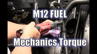Milwaukee M12 FUEL Ratchet Review   Pneumatic Replacement