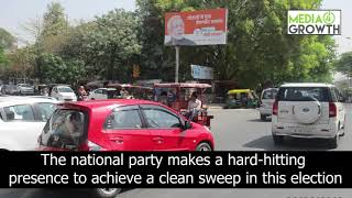 BJP dominates OOH space with multiple creative