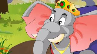 Animated Story | The Moon God Speaks to the King of the Elephants | Macmillan Education India