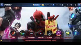 Deadpool Epic Quest Play Through Part #1** - Marvel Future Fight
