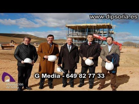 Vídeo de la visita de la Diputación a Almazán. / Dip.