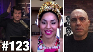 #123 WEED FIGHT! Joe Rogan and Joy Villa  Louder With Crowder
