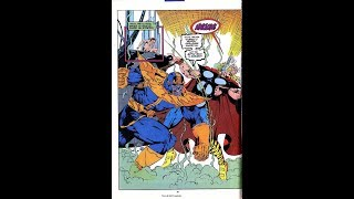 Thor (With Power Gem) vs Thanos - Blood and Thunder