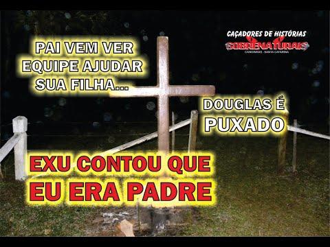 EXU REVELA SEGREDO DE OUTRA VIDA - PAI VEM AJUDAR SUA FILHA - DOUGLAS É PUXADO PELA BLUSA