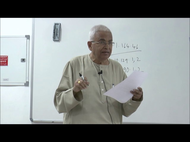 08 | Philosophical systems | VN Jha | 1 February | part 1