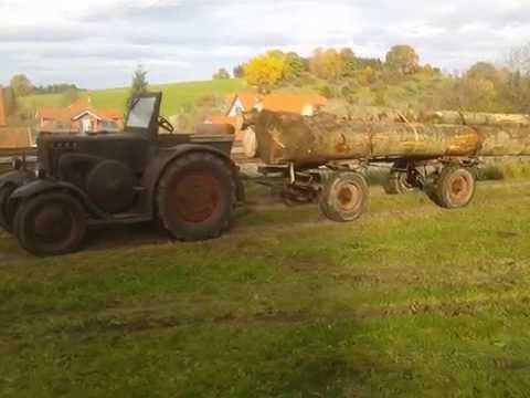 35er Eilbulldog Lanz Bulldog Im Einsatz