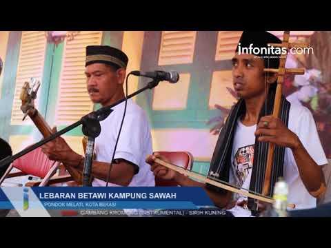 Lebaran Betawi Kampung Sawah 2017, Pondok Melati Kota Bekasi