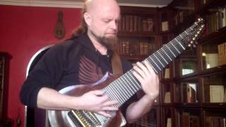 Rob Guz improvising to Sol Niger Within (F. Thordendal) on 11-stringed guitar –just for fun
