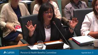 Pension & Health Benefits Committee on June 19, 2018