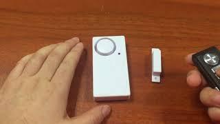 KS SF06R magnetic +vibration sensor alarm for door window