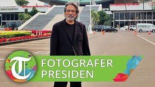 Proses Pengambilan Foto Presiden Jokowi dan Wakil Presiden Ma'ruf Amin