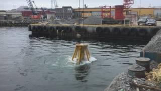 Kongshavn Grabb er leid inn for å flytte store masser med pukk på havbunnen på CCB, Ågotnes.