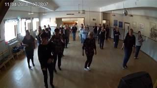 Kursavslutning VT -18 / Söderhamns linedancers  Celtic Na La
