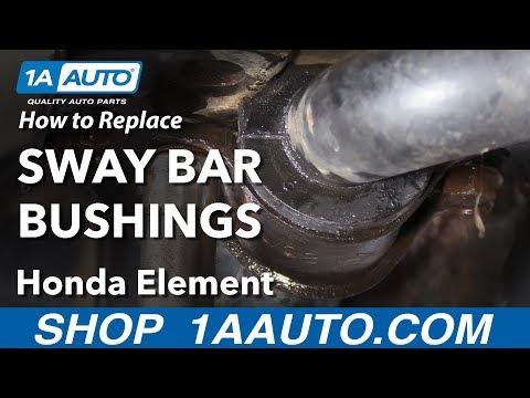 Honda Sway Bar Bushing Replacement DIY - смотреть онлайн на Hah Life