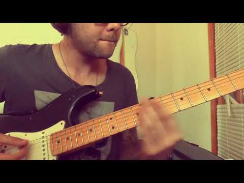 A small part of Anomalie's Velours played on guitar