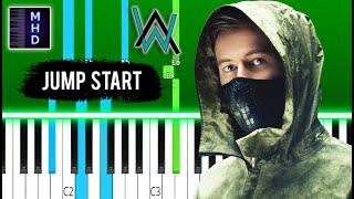 Alan Walker - Jump Start - Piano Tutorial