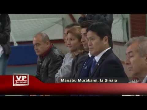 Manabu Murakami, la Sinaia