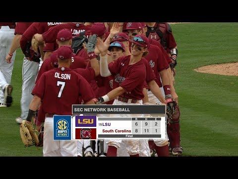 HIGHLIGHTS: Baseball vs. LSU — 4/22/18
