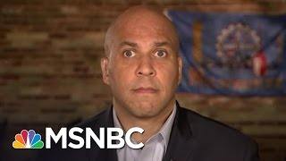 Senator Cory Booker: Hillary Clinton Has Been Very Transparent On Emails | MSNBC thumbnail
