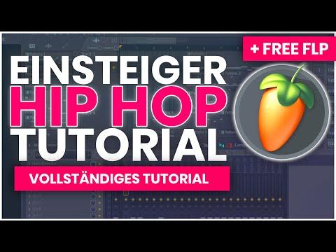 EINSTEIGER HIP HOP FL STUDIO (VOLLSTÄNDIGER BEAT) + FREE FLP/SOUNDS