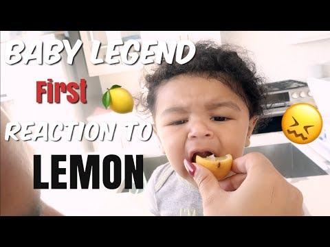 BABY LEGEND REACTS TO HIS 1ST LEMON! | WE PUT HIM IN BABY SCHOOL