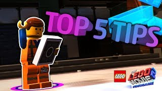 Top 5 Tips! The LEGO Movie 2 Videogame