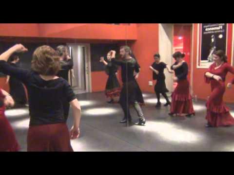 Victor Bravo. Museo del baile flamenco. Clase de flamenco
