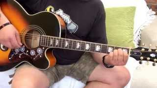 The Verve-The Drugs Don't Work-Acoustic guitar lesson.